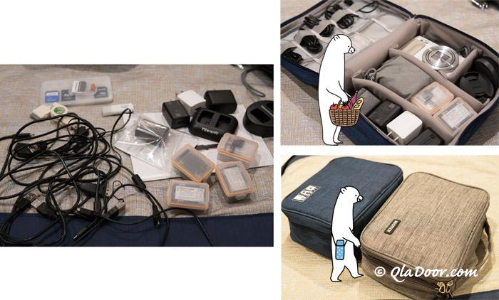 韓国旅行の必需品・トラベルポーチ