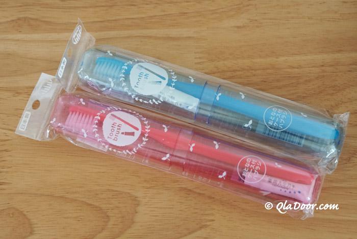 韓国旅行の持ち物100均で買った歯ブラシセット