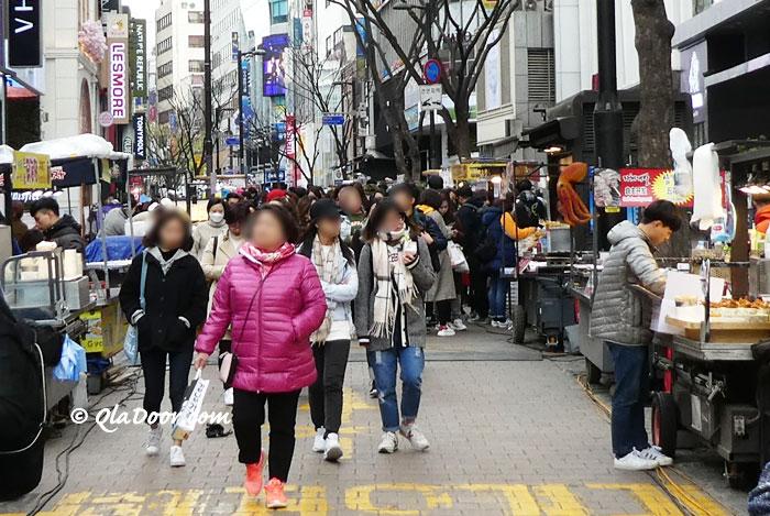 韓国旅行の冬の持ち物と服装の写真