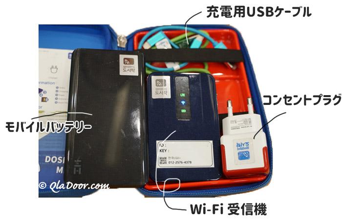 韓国旅行の持ち物・wi-fiは必須