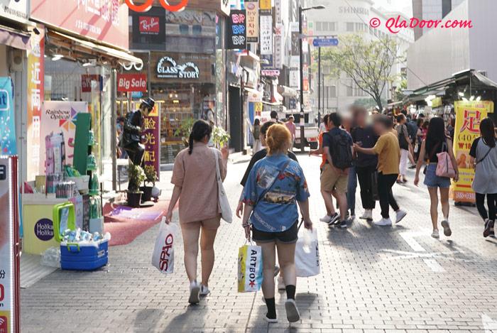 韓国旅行の女子用の持ち物