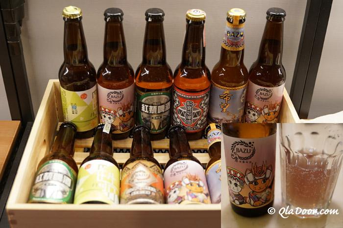 台湾でしか買えないMuskunBarビール