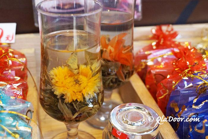 台湾のインスタ映えできるおしゃれなお土産・花のお茶