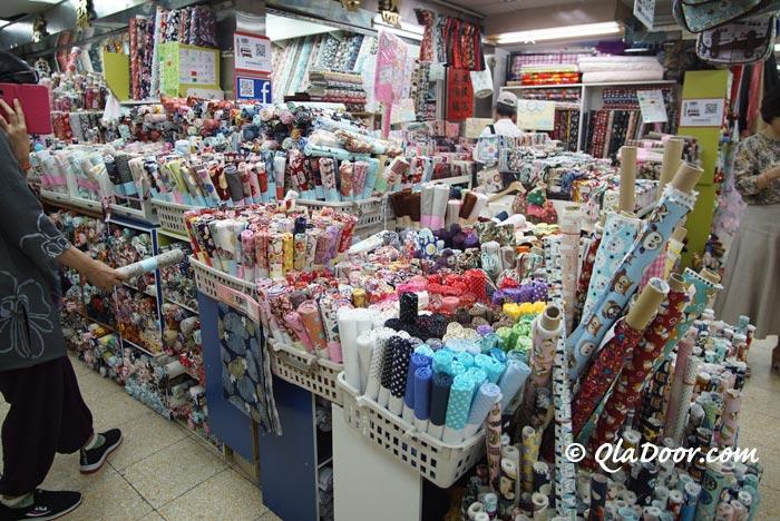 台湾のかわいい布材料は女性に喜ばれるお土産