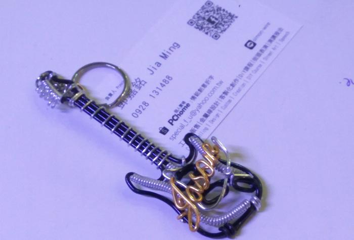 台北の露店で売っているオーダーメイドキーホルダー