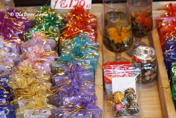 台湾のお土産でお茶は安くてばらまきできる