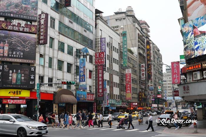 台湾・台北街の写真