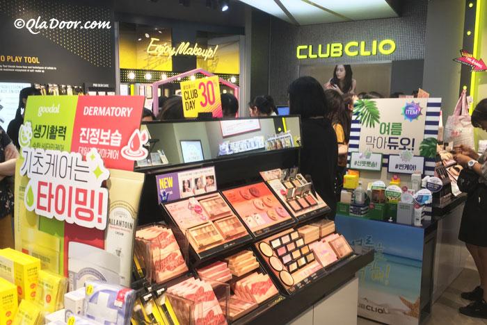クラブクリオのクッションファンデーションの販売店