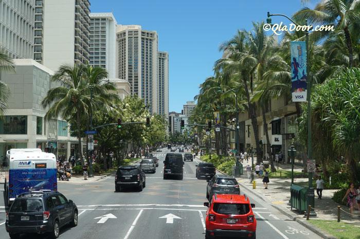 ハワイのお土産が買える場所・ワイキキの街
