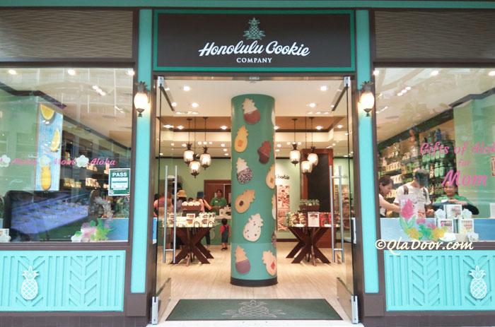 ホノルルクッキーの店舗ハワイ