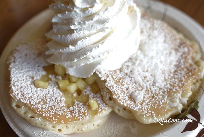 ハワイのお土産・エッグスンシングスのパンケーキ