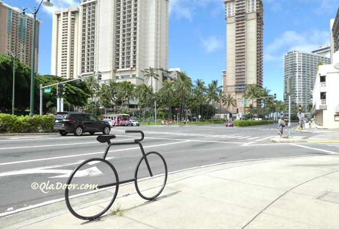 ハワイ・ホノルル街の写真