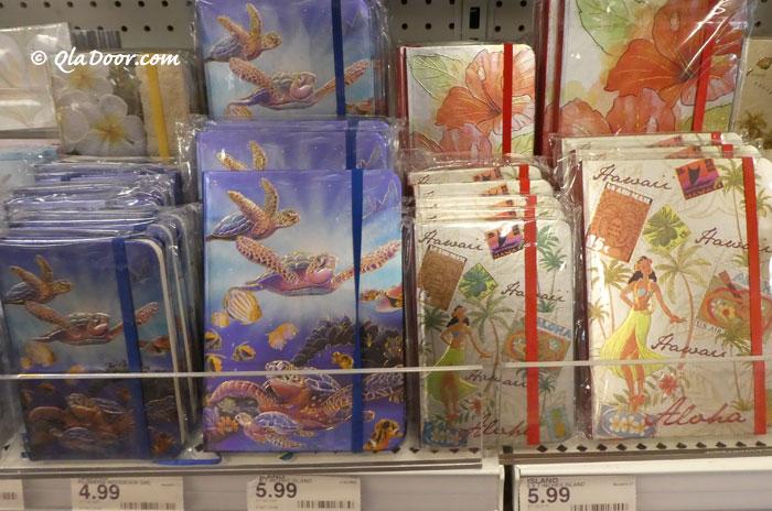ハワイの雑貨文房具・おしゃれなノート