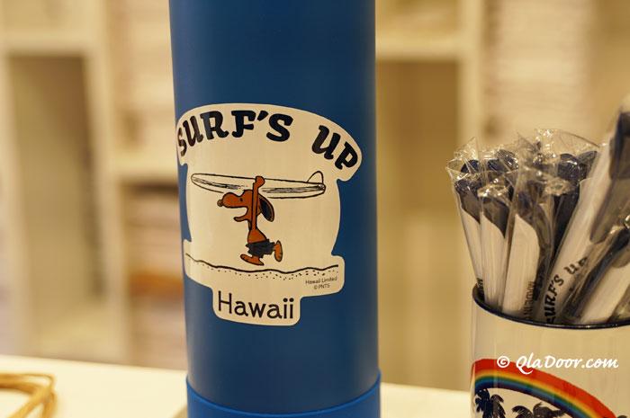 ハワイのお土産雑貨モニホノルル日焼けスヌーピー