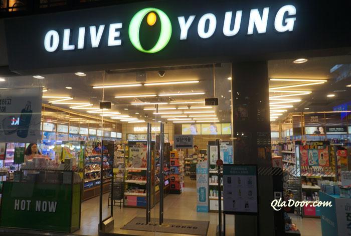 メディヒールのパック一番安い場所・韓国のオリーブヤング