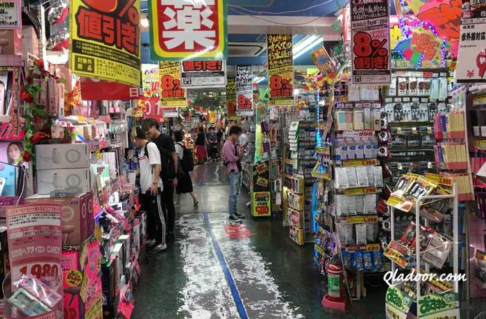 メディヒールの日本店舗・新宿新大久保のドン・キホーテ