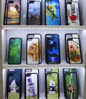 ハワイのお土産・iphoneスマホケース