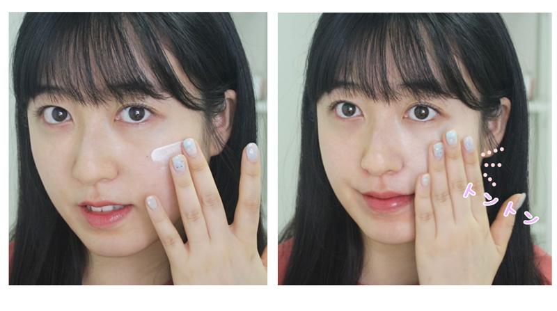 シロモチクリーム(ペクソルギ)の顔への使い方・塗り方